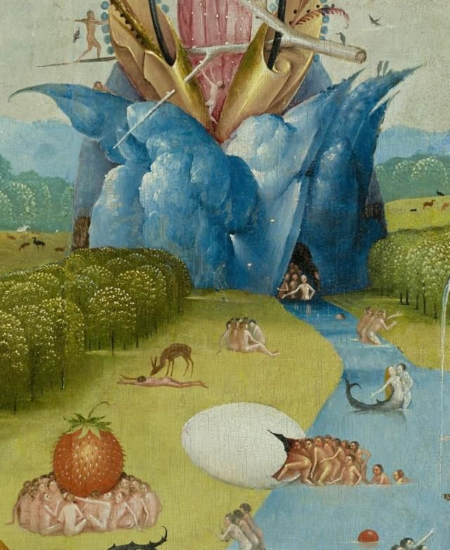 269 best images about hieronymus bosch on pinterest for Bosco el jardin de las delicias