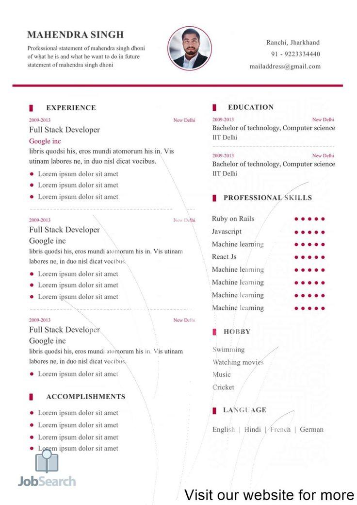 format my resume format my resume free format my resume
