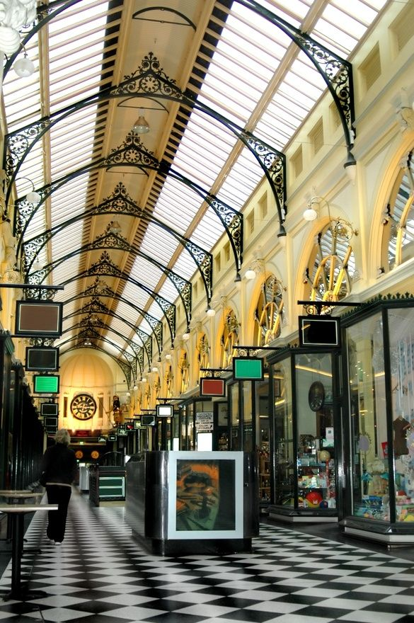 Beautiful shopping arcade in Melbourne, Australia. #melbourne