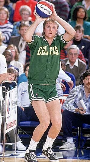 Larry Bird my fav basketball player of all time