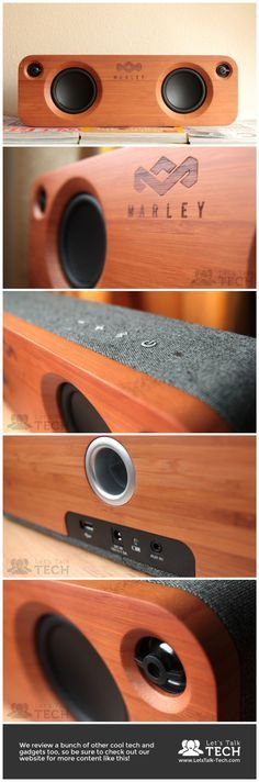 House of Marley's Get Together is a speaker that both looks and sounds the part, with impressive portability.