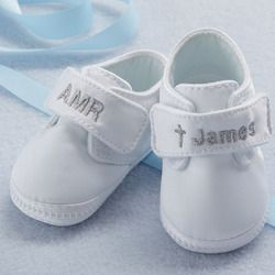 Personalized Christening Shoes for Boys #personalized