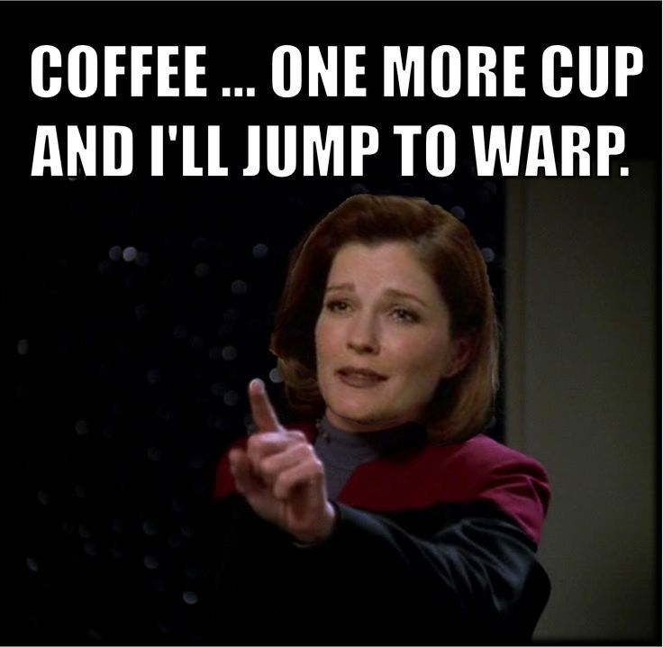 Janeway and coffee - Google Search