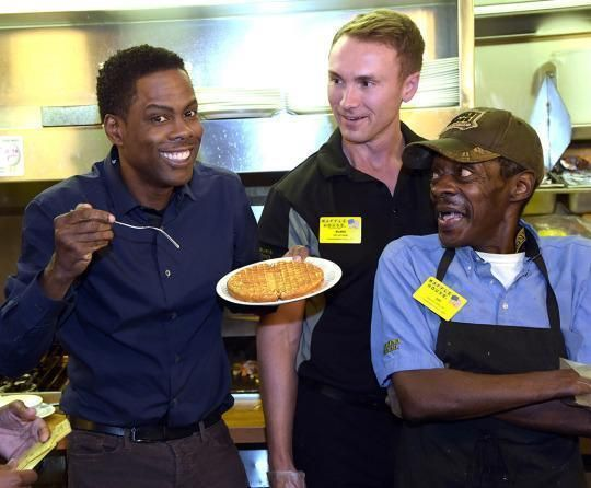 March 25 marks International Waffle Day, and what better way to celebrate than with a trip to your local Waffle House? Take a look at a few celebrities who have been photographed enjoying a meal at the beloved 24-hour diner, which has more than 2,100 locations across the country.