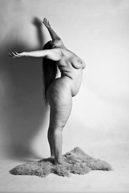 Not Plus size artistic nude