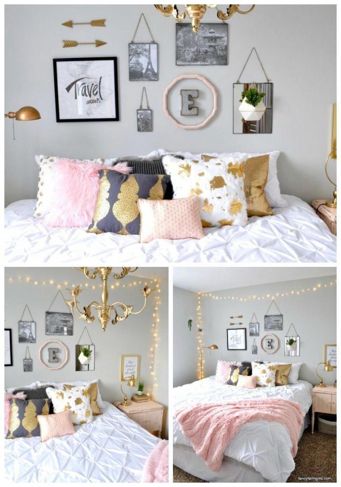 "Girl\'s Room Makeover #""teenagegirlbedroomdesignsroomdecor"" | Teenage ..."