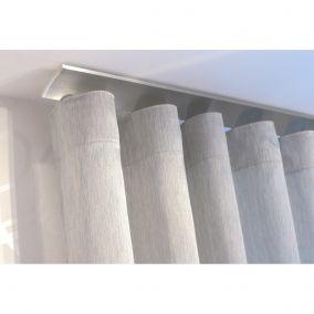 Les 25 meilleures id es de la cat gorie rail pour rideau sur pinterest rideaux sur rail rail - Rail rideau plafond ...