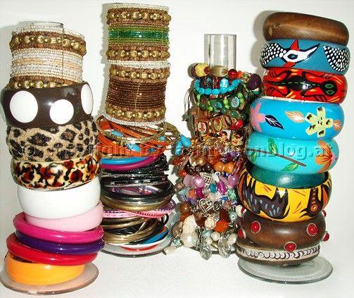 Best Ideas Decoración Stands Images On Pinterest Display - Bangle bracelet storage ideas