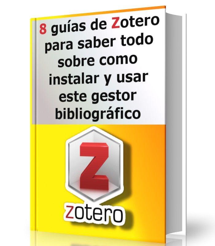 8 guías de Zotero para saber todo sobre como instalar y usar este gestor bibliográfico  #zotero #bibliografia #citar #LibrosAyuda  http://www.librearchivo.tk/2016/07/8-guias-de-zotero-para-saber-todo-sobre-zotero.html