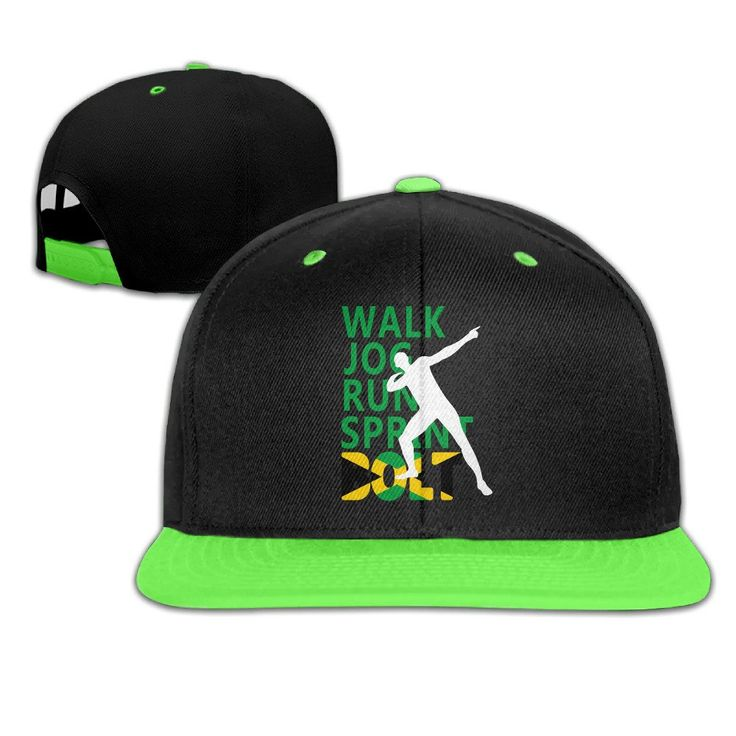 OKGOO Kids King 100m Bolt Jamaica Rio Olympic 2016 Adjustable Snapback Cap Hip-hop Baseball Hat For Kids. Recommended For Children Under 13 Years Of Age Or Children. Can Adjust The Size Appropriately. High Quality,Hand Wash. Moisture-wicking Sweatband Inside Helps Keep You Dry. 7-15 Business Days To USA By USPS.
