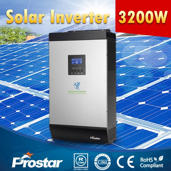 Prostar 3kw hybrid solar inverter without battery