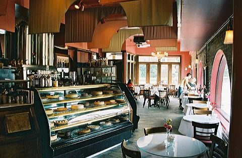 Cafe Intermezzo - Atlanta, GA  My little Austrian style cafe.  Great coffee, tarts and tortes and more.  Ahhh, the memories!