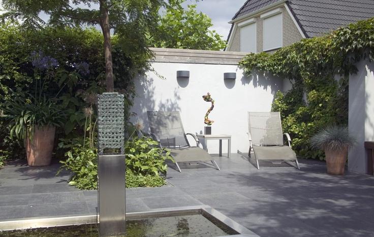 39 best images about kleine tuin on pinterest planters fire wood and patio gardens - Kleine kap ...