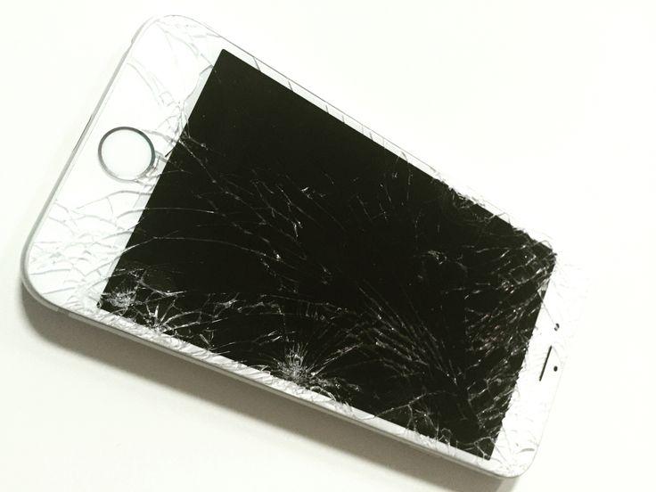 Broken iPhone by www.iPhonePro.cz #iphone #iphonepro