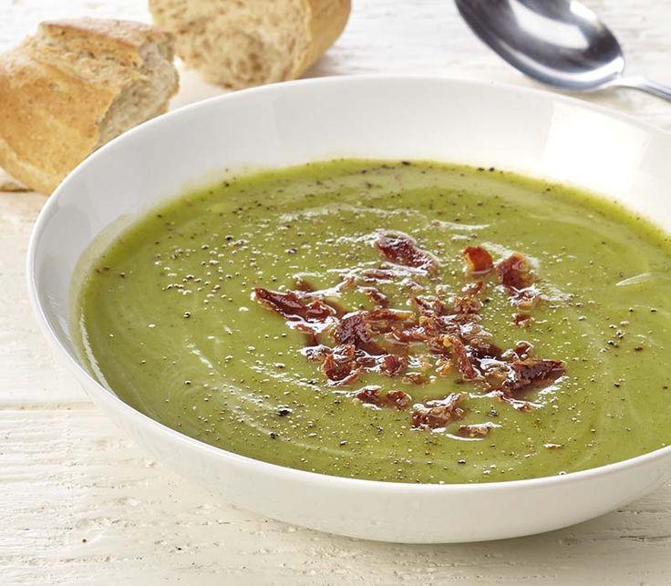 Courgettesoep met broccoli