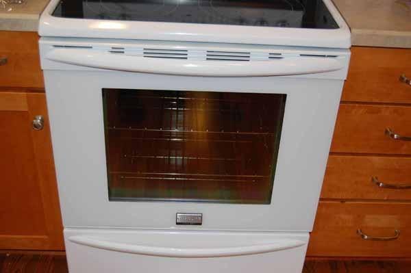 DIY how to clean between the glass on the oven door.