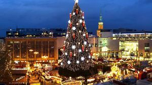 Weihnachtsmarkt in Dortmund (Quelle: dpa)