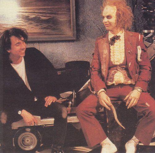 Tim Burton & Michael Keaton