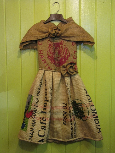 Pin Burlap Sack Dresses on Pinterest