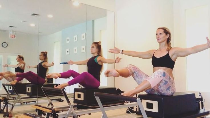 """1,122 Likes, 63 Comments - Grace Hurry (@gracehurrypilates) on Instagram: """"• PART 1 • A clip of how Pilates instructors really workout! I am so lucky to work with such…"""""""