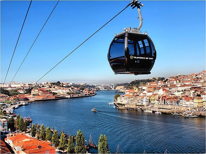 Our cable car near Douro River, by Oscar Fonseca http://www.facebook.com/oportocity