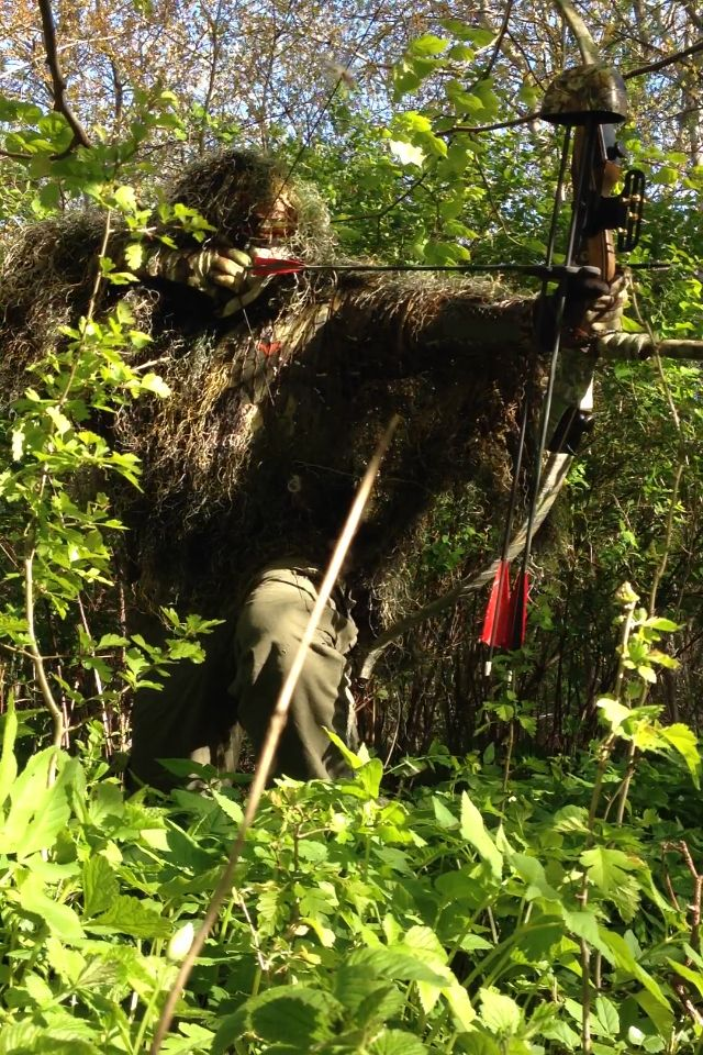 Ghilliesuit for bowhunting