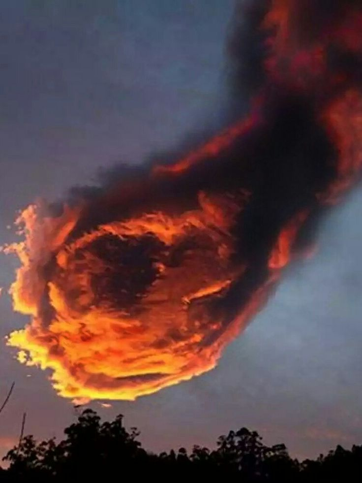 Image of cloud in Portugal that looks like hand of God goes viral Turbulent circular movement of wind in the low- to mid-levels of the atmosphere created the unusual cloud A giant fireball  about to hit Madeira in Portugal was captured by Meteo Madeira, a weather bureau in Portugal. It was sighted on the northern coast of the Portuguese island at sunrise, which is where Real Madrid footballerCristiano Ronaldowas born