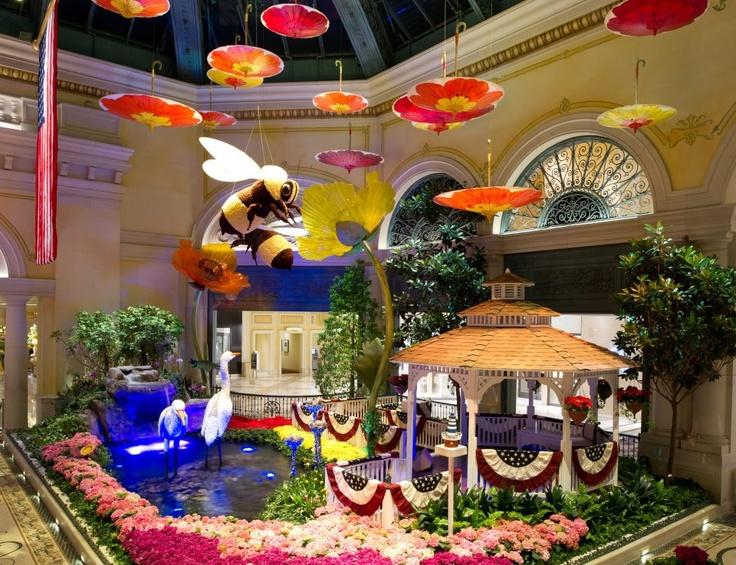 Bellagio Hotel/Casino Las Vegas Conservatory U0026 Botanical Gardens.