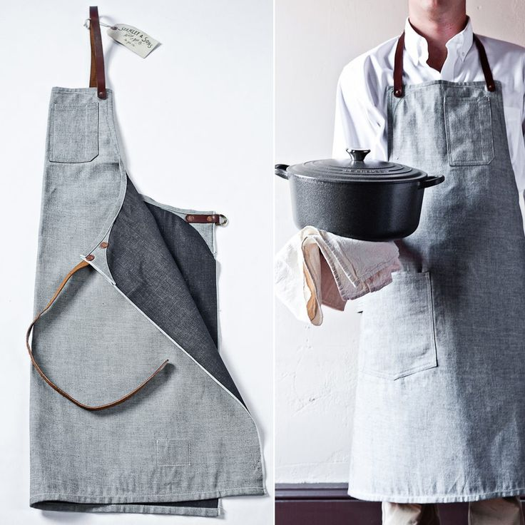 apron and bag: Stanley & Sons for Garden & Gun
