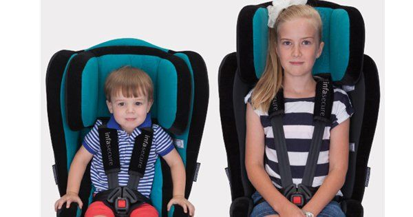 Win one of two InfaSecure Evolve Caprice car seats - Prizeapalooza day 28