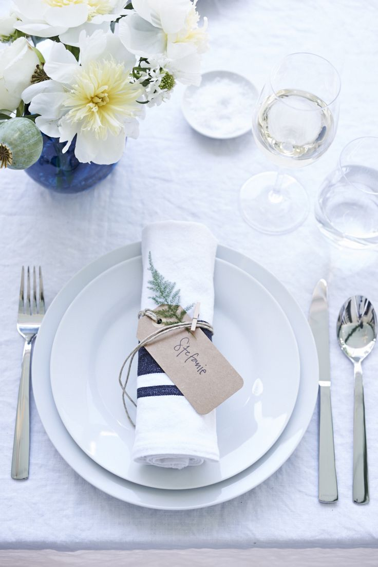 Open Kitchen Place Setting