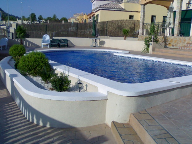383 best images about piscinas on pinterest gardens for Piscina m 86 precios