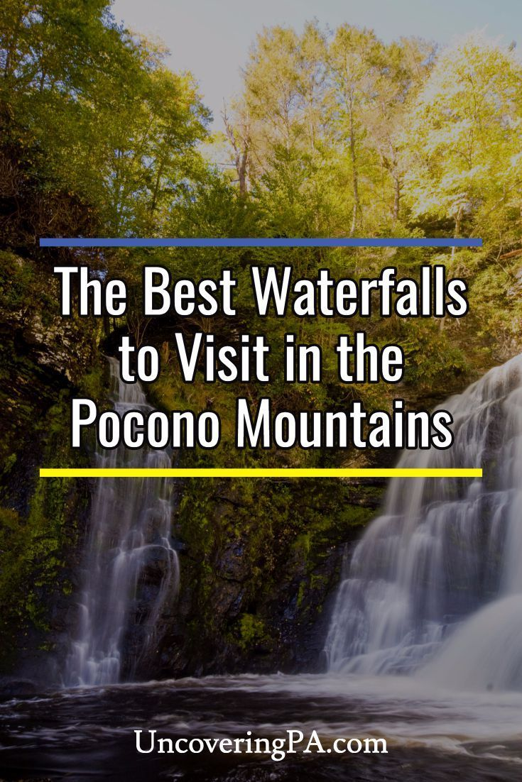 19 Free Waterfalls in the Poconos that