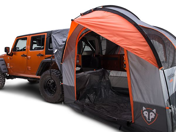 $259.99 - Rightline Gear Wrangler Gear Tent with Vehicle Attachment 110907 (87-15 Wrangler YJ, TJ, & JK) - Free Shipping