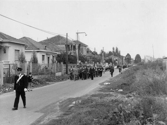 via Libertà, anni '60   Settimo Milanese