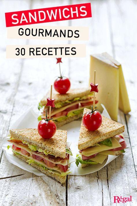 Si vous aimez le traditionnel jambon-beurre ou le cheeseburger, ce dossier spécial sandwichs gourmands est pour vous ! Laissez-vous tenter par nos recettes originales et faciles à préparer. Des sandwichs frais parfaits pour un déjeuner sur le pouce, un pique-nique, ou des burgers pour un dîner entre amis. Au menu : club-sandwich au bacon, croque-monsieur de chef, hamburger au poulet ou au poisson, recettes du monde, tacos, wraps, sandwichs au homard pour un repas chic, ou quesadillas pour…