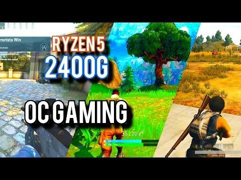 Amd Ryzen 5 2400g Overclocking Fortnite Pubg And More Freetoplaymmorpgs Fortnite Amd Games