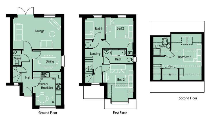 4 bedroom 3 storey house plans nell wooden 4 bedroom