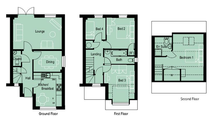 4 bedroom 3 storey house plans | Nell wooden: 4 bedroom house plans uk