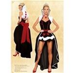 Pikovaya Dama Swallowtail Dress Club Wear with Bowknot