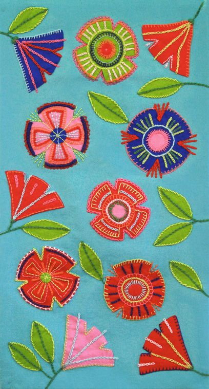 Finnish folk floral