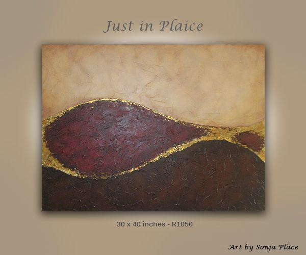 Just in Plaice - sold