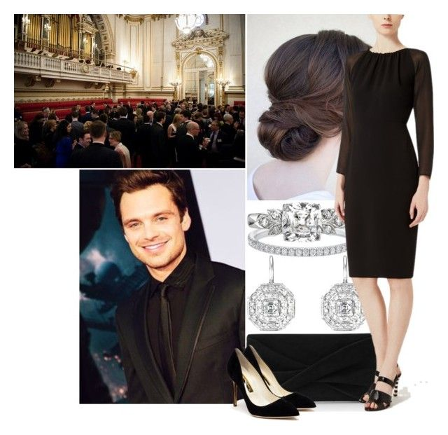 """Visit to Berlin - Day 1; Attending a reception at the Czech embassy"" by princess-katharina ❤ liked on Polyvore featuring Penny Preville, Reiss and Rupert Sanderson"
