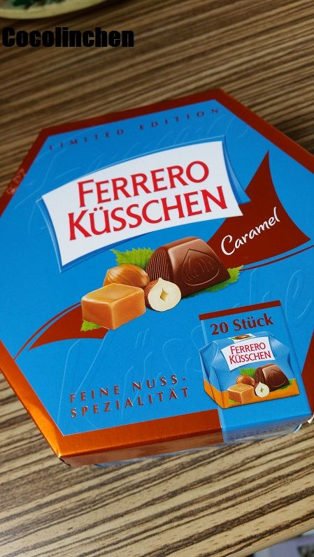 Cocolinchen : Ferrero Küsschen Caramel