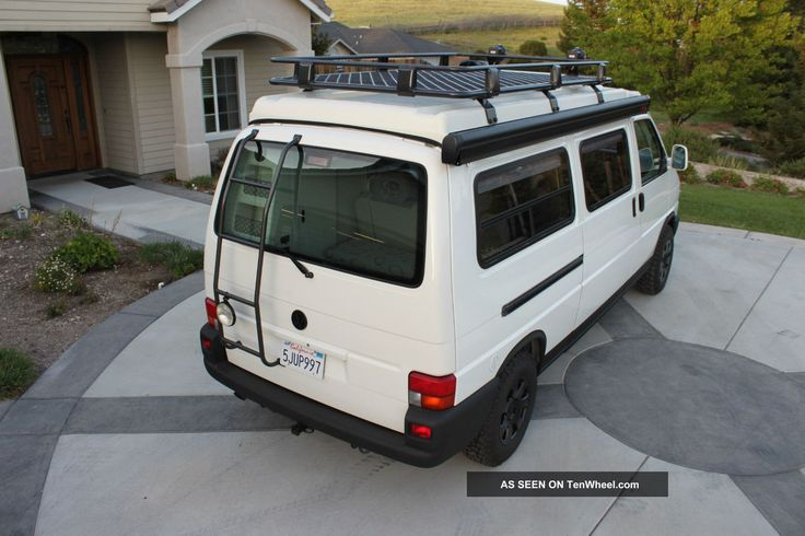 2002+Volkswagen+Eurovan+Winnebago+Van+Camper+2+Year+Adventure+Ready+