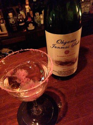 """【桜ことば】 「桜」と「日本酒」が揃い、""""花あかり""""や""""花筏""""など桜にちなんだ「桜ことば」を連想させる、風流で情緒的なカクテル。"""
