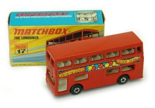 Matchbox Car - The Londoner. Still have this one.