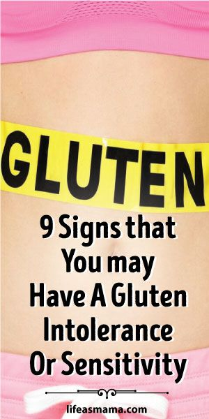 9 Signs That You May Have A Gluten Intolerance Or Sensitivity