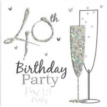 41 best 40th birthday party invitations images on pinterest 40th birthday party invitation cards filmwisefo Choice Image