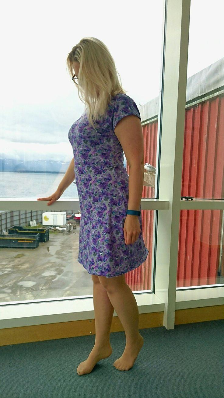 Onion dress in Jersy